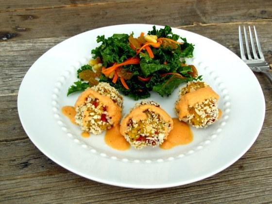 Millet-Arrancini-with-salad
