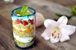 Layered Quinoa Cup