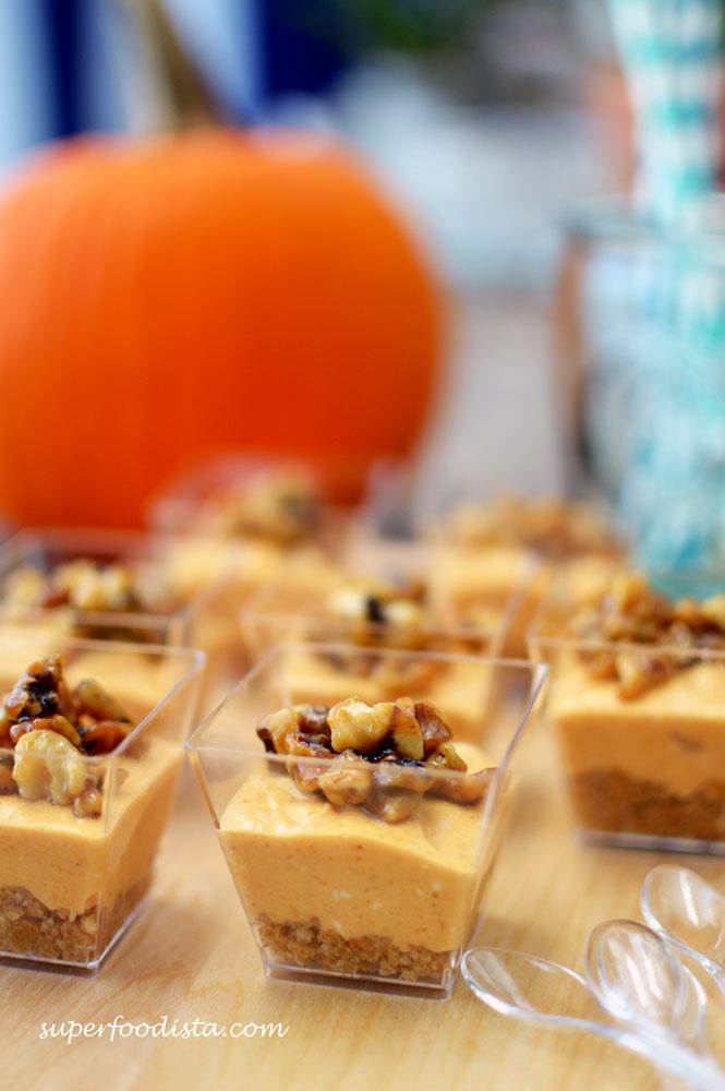 Pumpkin Oreo Cheesecakes (galletaquemada.wordpress.com) Spiced Pumpkin ...