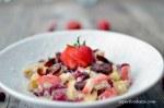 Autumn Porridge with Cranberries