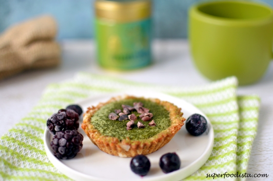 Coconut-Tartelette-Green-Tea